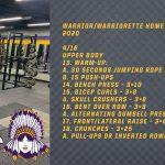 Warrior/Warriorette Home Workouts 2020 (4/16)