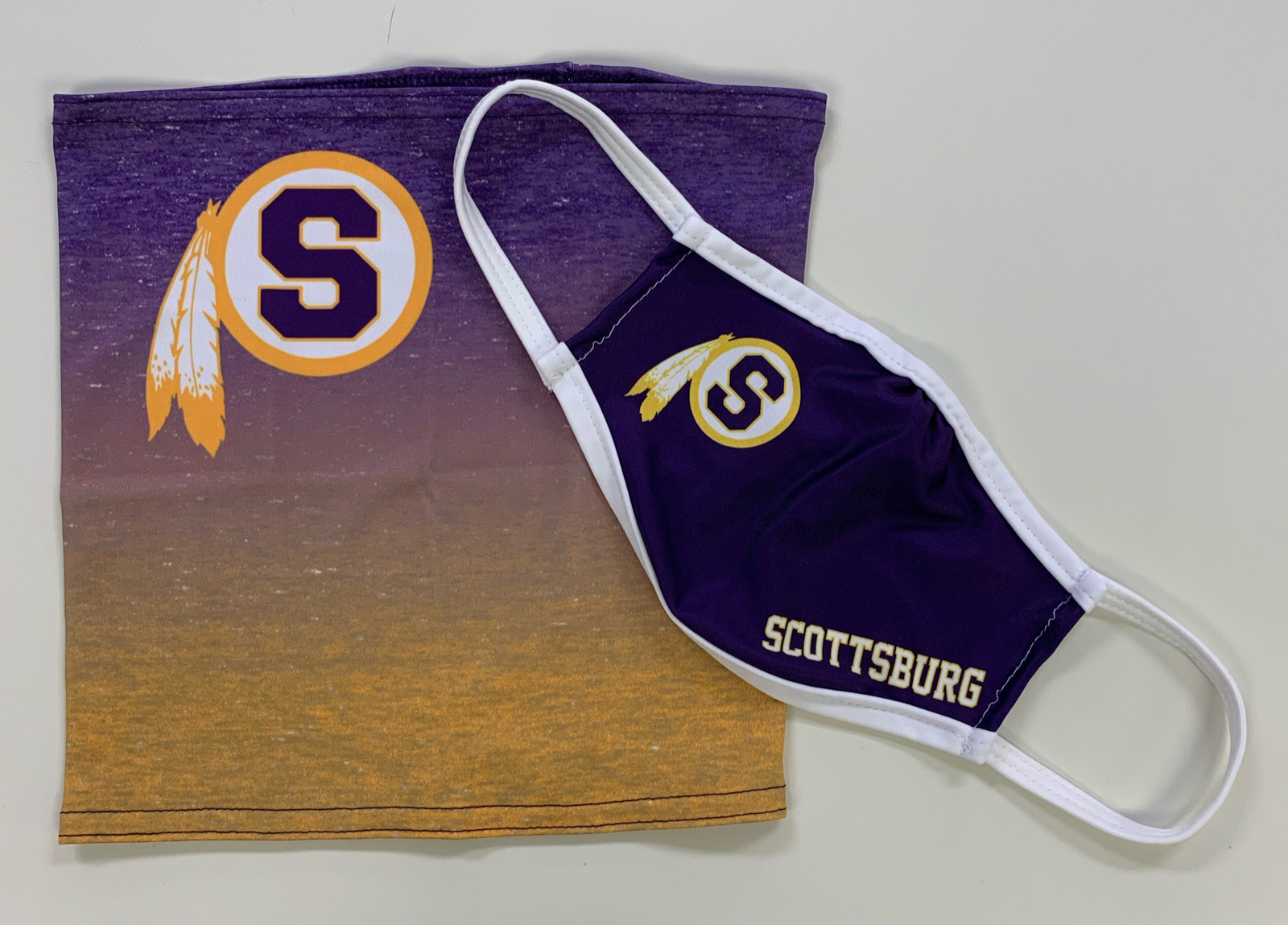 Scottsburg Masks & Neck Gaiters On Sale Now!