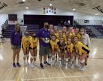 Warriorette Varsity Volleyball beats Charlestown 25-21, 27-25, 25-15 as Zipp Gets 300th Win