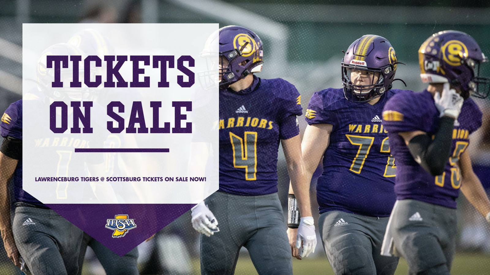 Tickets Now Available for Football Sectional