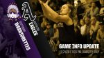 WARRIORETTES v AUSTIN Game Information Update