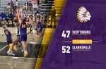 Warrior Varsity Basketball falls to Clarksville 52 – 47