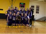 Warriorette 8th Graders Win MSC – Cap Off Undefeated SMS Career