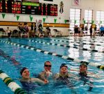 Girls Varsity Swim sets 2 School Records at IHSAA Girls Swimming Sectional