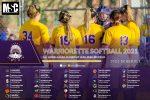 Warriorette Softball 2021 Schedule