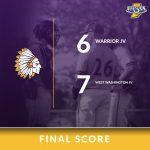Warriors Junior Varsity Baseball falls to West Washington Jr/Sr HS 7 – 6