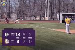 Warriors Varsity Baseball falls to Borden 14 – 8 in Game 2 of the Doubleheader