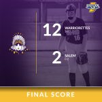 Warriorette Varsity Softball beats Salem 12 – 2