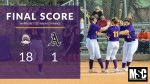 Warriorettes Softball beats Austin 18 – 1