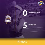 Warriorette Varsity Tennis falls to Seymour 5 – 0