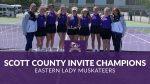 Eastern (Pekin) Lady Muskateers Win Scott County Tennis Invitational
