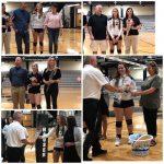 Volleyball Wins Big on Senior Night