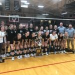 Hauser Volleyball Wins 10th Sectional in a Row!!!
