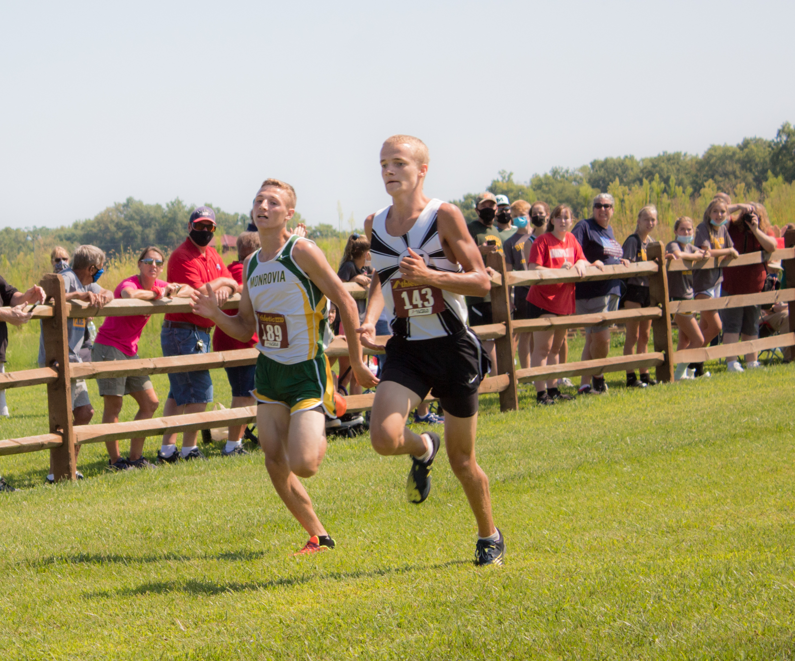 Varsity Cross Country at Jeremy Wright Small School Invitational (August 22, 2020)