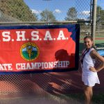 Mariana Ochoa finishes 12th at the State Tennis Tournament