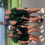 Girls Varsity Golf finishes 6th place at Olathe South Tournament @ Heritage Park Golf Course