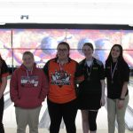 Girls Varsity Bowling finishes 3rd place.  Nichole Thomas finished 2nd in individuals.
