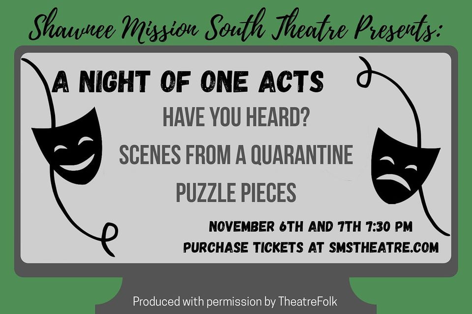 South Theatre presents Virtual One Acts