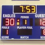 New Scoreboards Installed this Week