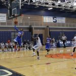 Southfield Christian High School Basketball Varsity Boys beats Southfield High School 53-50