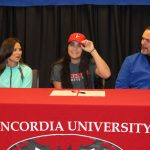 Eagle Signs to Play College Softball at Concordia University