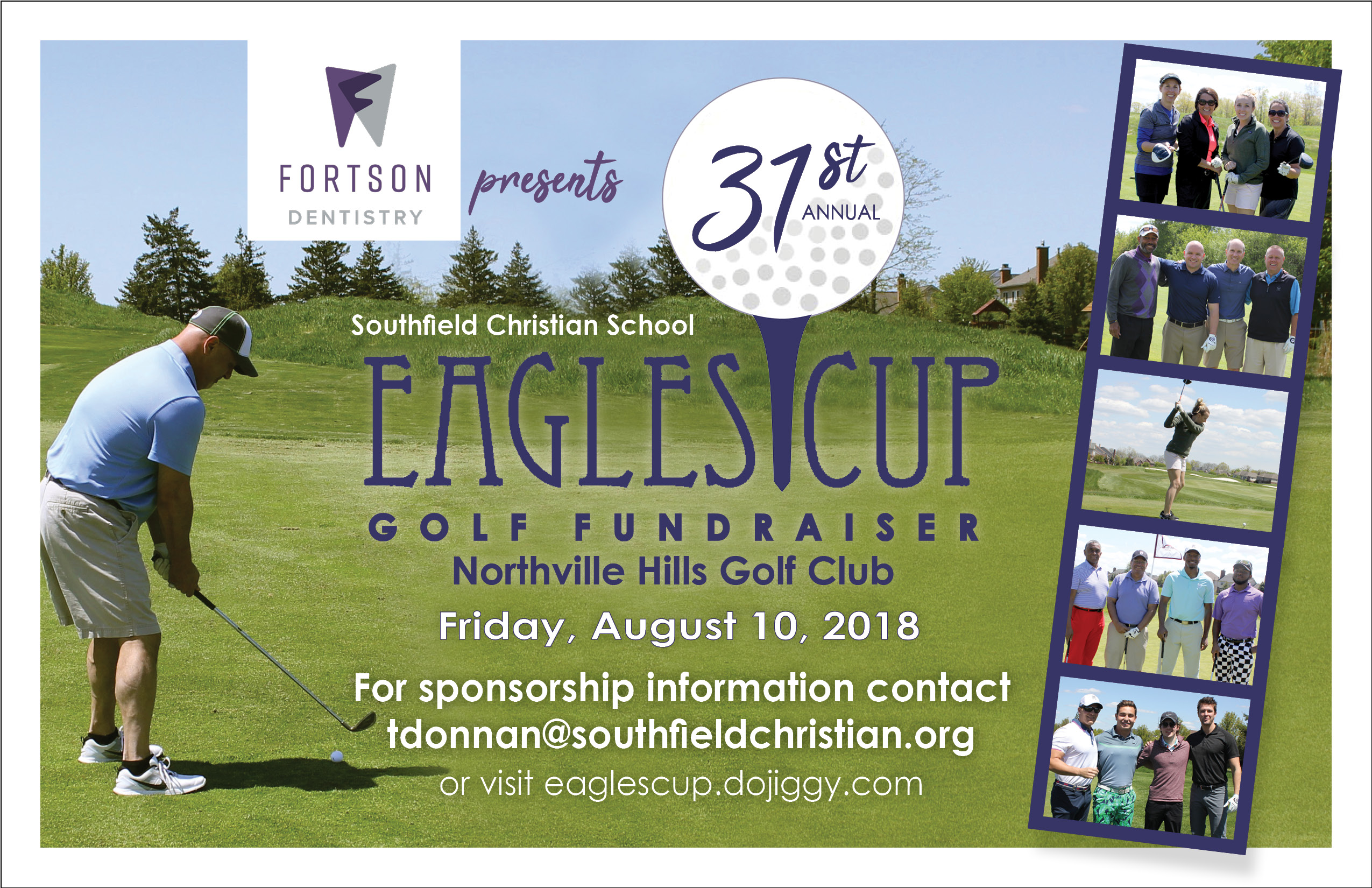 31st Annual Eagles Cup Golf Outing Presented By Fortson Dental