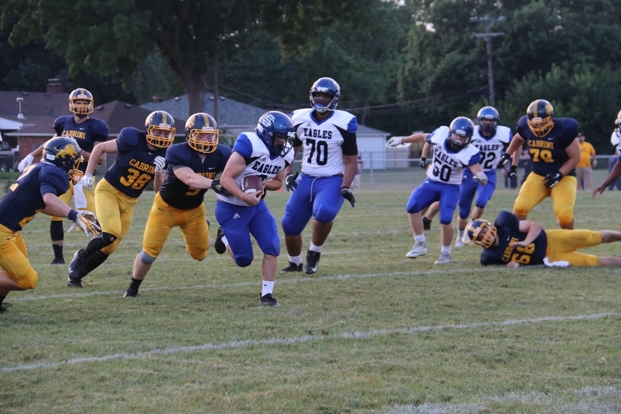 Football Falls to Cabrini in Week #2