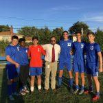 Soccer Wins on Senior Day