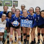 Van Dyke Surpasses 1,000 Career Volleyball Kills