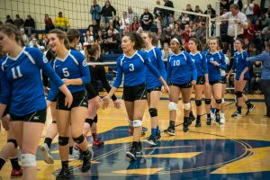 Volleyball Quarterfinal Pictures