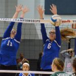 Volleyball Falls to Mendon in MHSAA State Semifinal