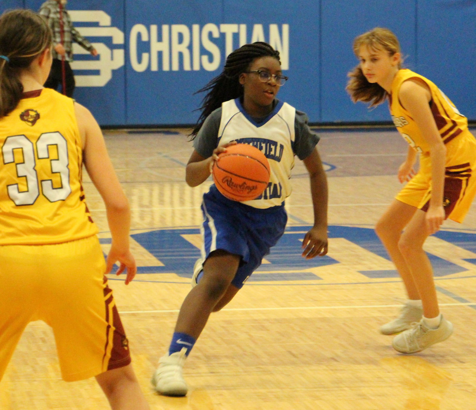 Middle School Girls Basketball Awards Recap