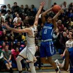 Boys Basketball Advances to Regional Final with Win Over Plymouth Christian