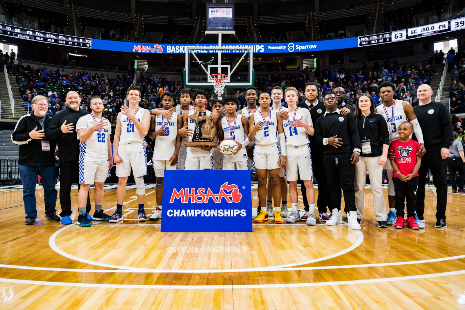 Championship Salute: Boys Basketball 2019