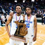 Humphrey and Sanders Earn AP Boys Basketball 1st Team All State