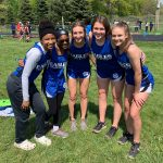 Girls Varsity Track finishes 4th place at MHSAA Regional