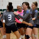 Volleyball Overcomes Slow Start to Defeat Oakland Christian