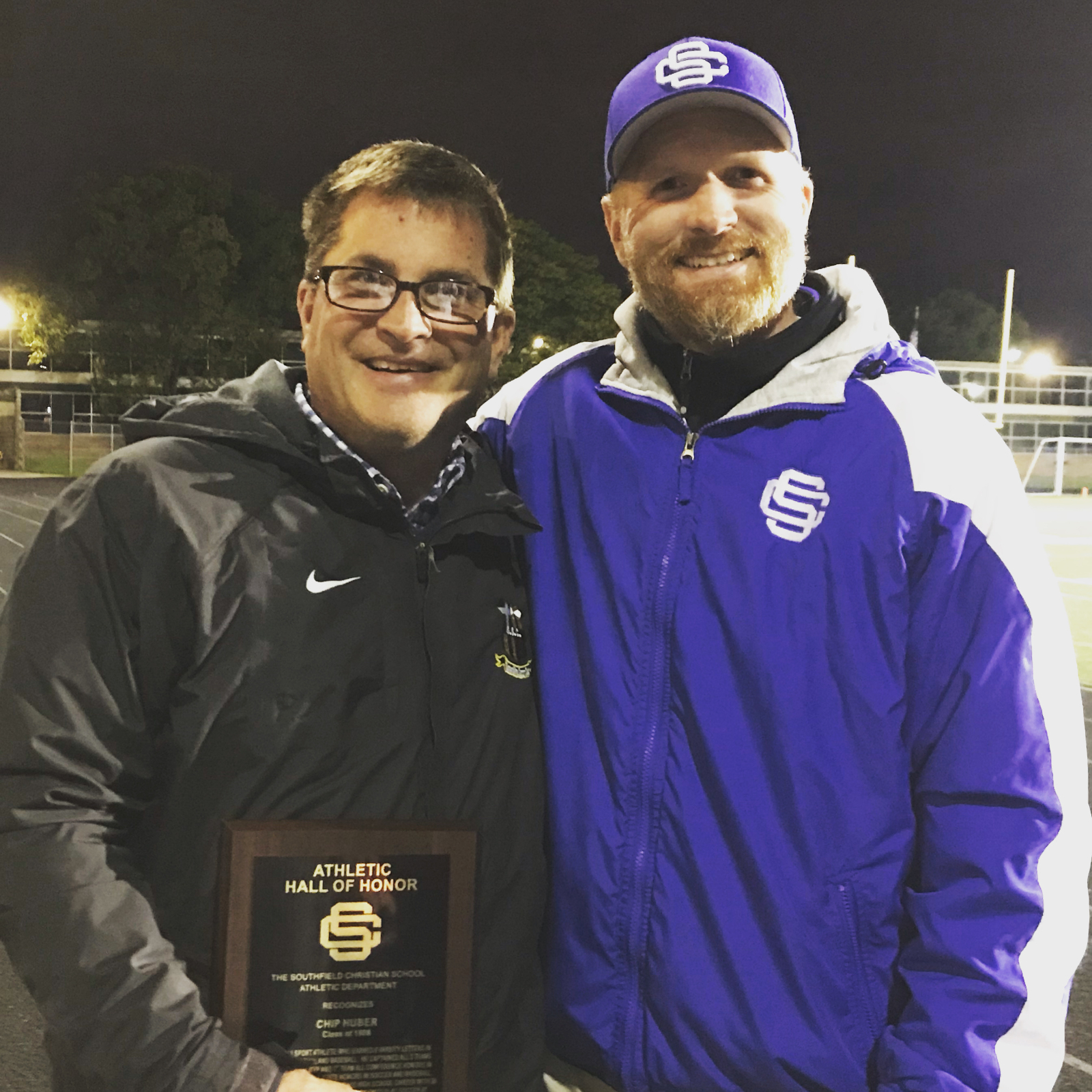 Chip Huber '86 Inducted into the SCS Athletics Hall of Honor