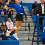 Warnshuis Earns 1,000th Career Volleyball Kill