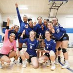 Volleyball Wins 5th Straight MHSAA District Championship