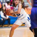 Girls Basketball Runs into a Good Plymouth Christian Team