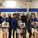 Girls Basketball Wins on Senior Night Against Oakland Christian
