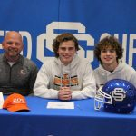 Parpart Signs to Play Football at Kalamazoo College