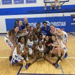 Girls Basketball Wins MHSAA District Title