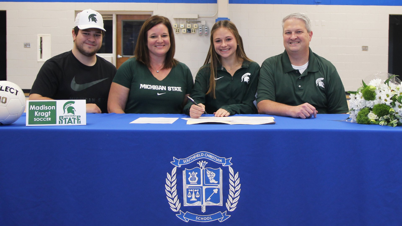 Maddie Kragt Signs to Play Soccer at Michigan State