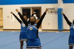 Cheer Shows Consistency at Home Compeition