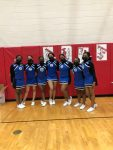 Cheer Completes Season at MHSAA District