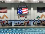 Lady Panther Swimming and Diving ties Madison