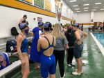 Lady Panthers Excel in Round 1 of Sectional Swimming