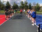 Girl's Tennis Defeats Shawe Memorial 4-1